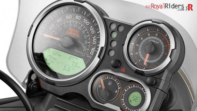 A more useful instrument cluster.