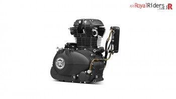 New Long Stroke 410cc engine for Himalayan Motorcycle.