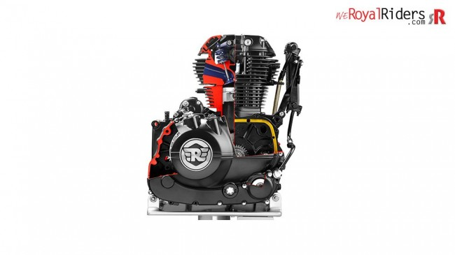 New SOHC engine is more refined and powerful.
