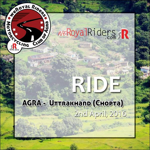 Agra to Rishikesh - Chopta  and Lansdowne.