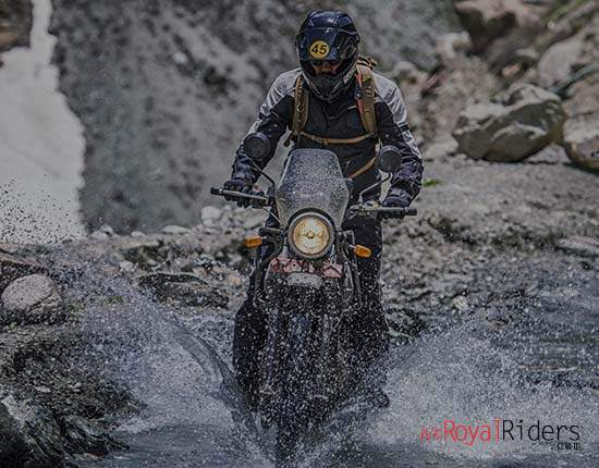 True adventure bike from India.