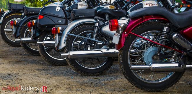 Silencer or Muffler can affect performance of a bike.