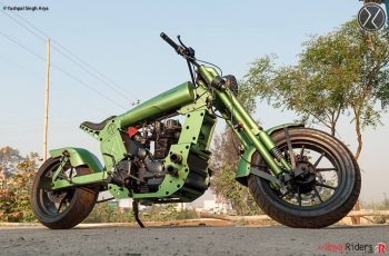Awesome green custom RE.