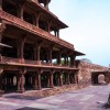 Panchmahal - a picture taken from center courtyard.