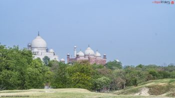 Taj Mahal is beautiful from all angles.