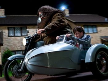 Royal Enfield from Harry Potter Movie