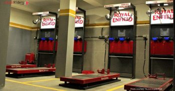 Service area for Royal Enfield Bikes