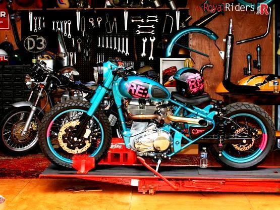 Mo Powa Bike- Turbo Charged Royal Enfield