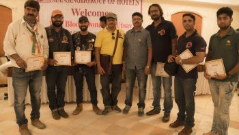 Blood Donation camp with certificate