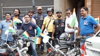 15th August Celebrations by weRoyal Riders- starting the exciting day.
